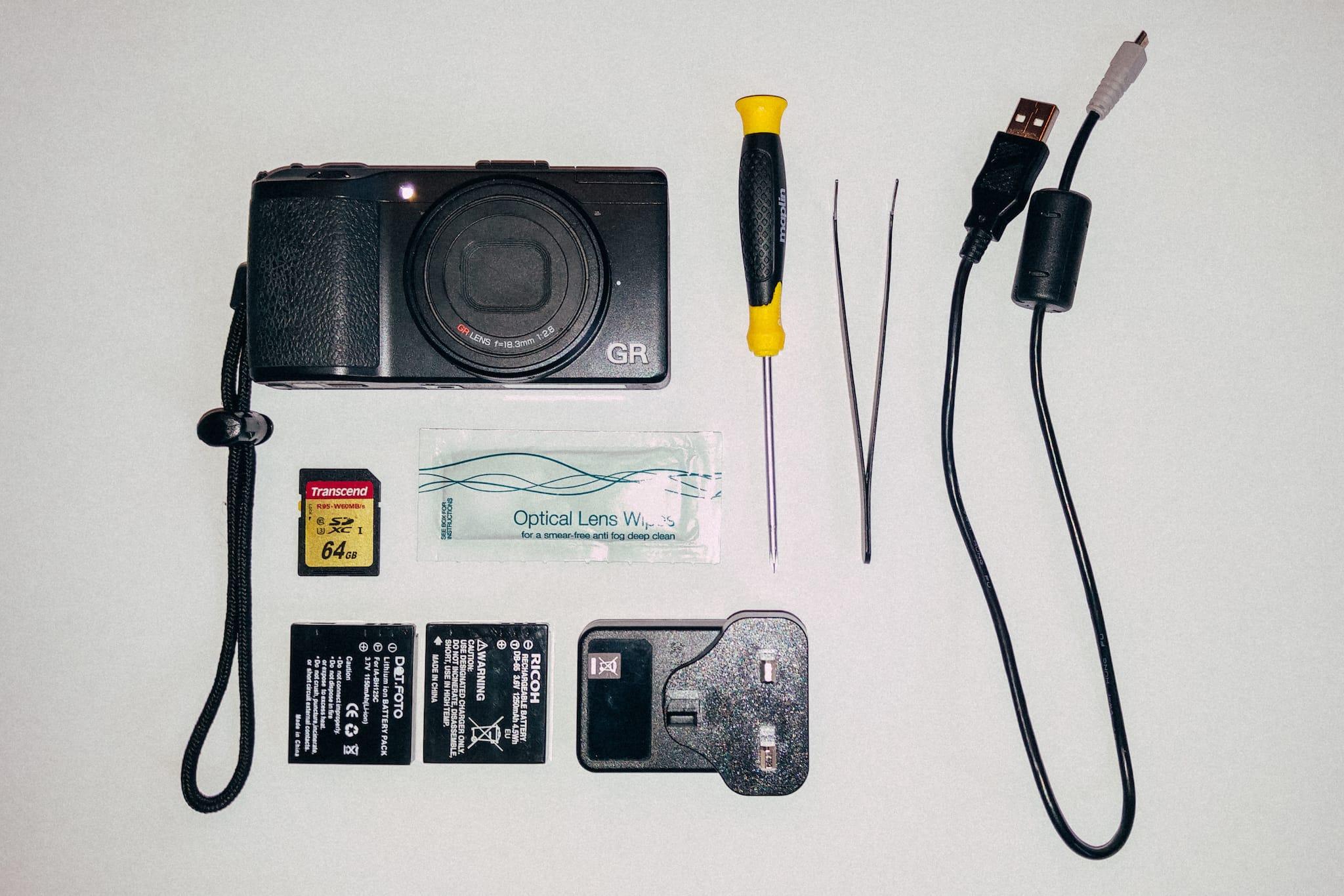 Matthew Martin's camera bag