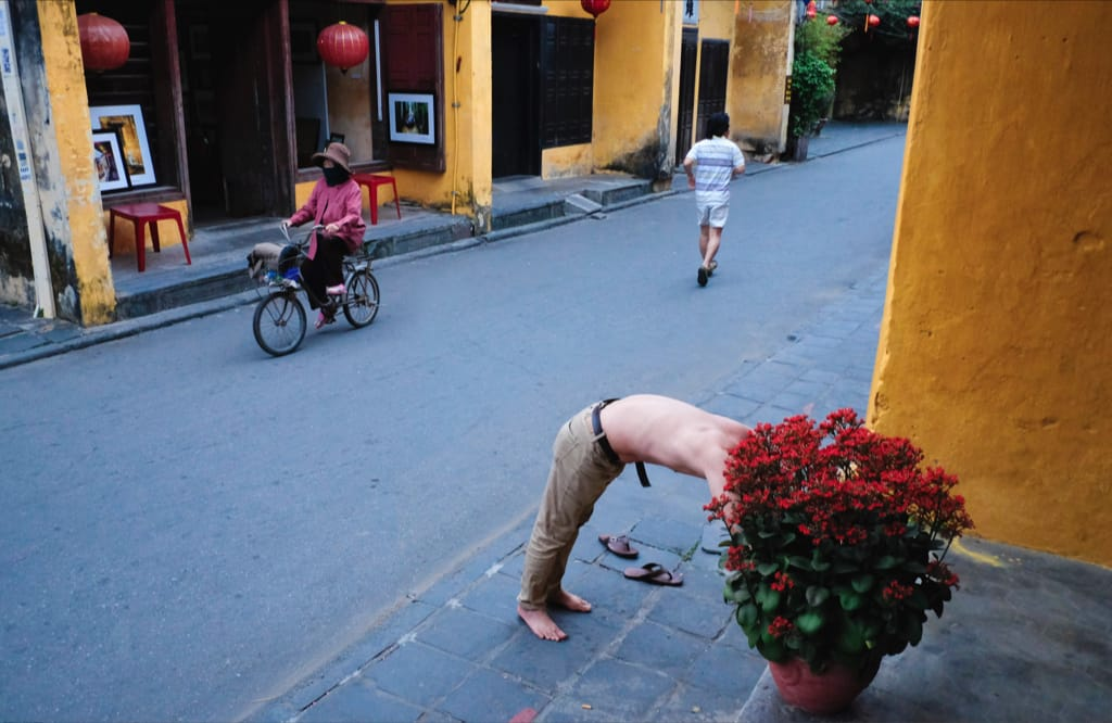 Morning in Hoi An by Chu Viet Ha