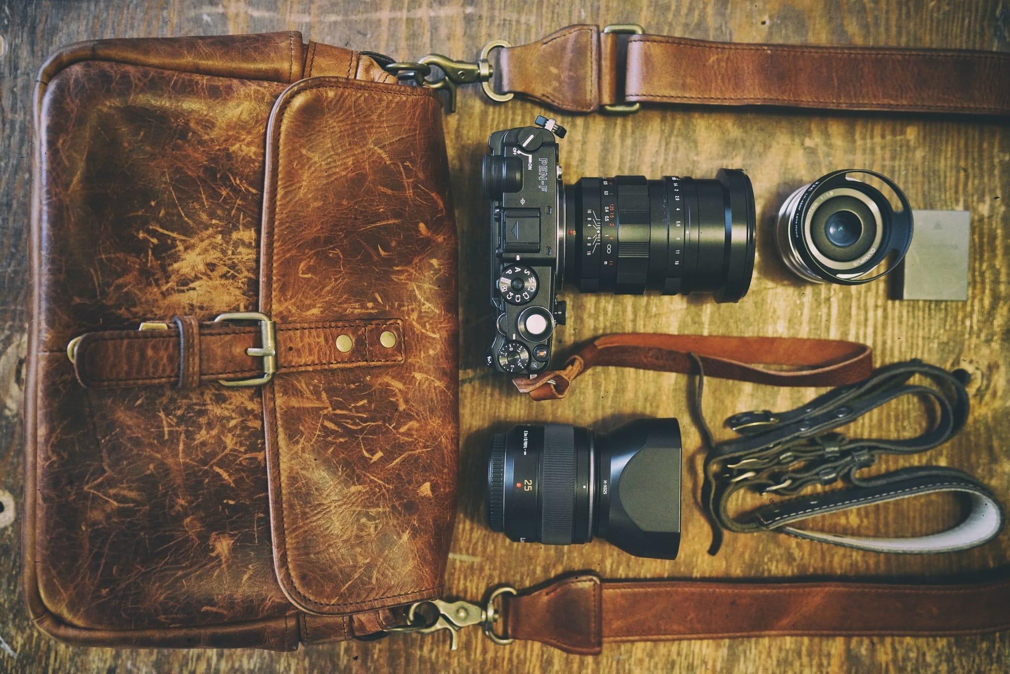 Nicholas Goodden's Camera Bag