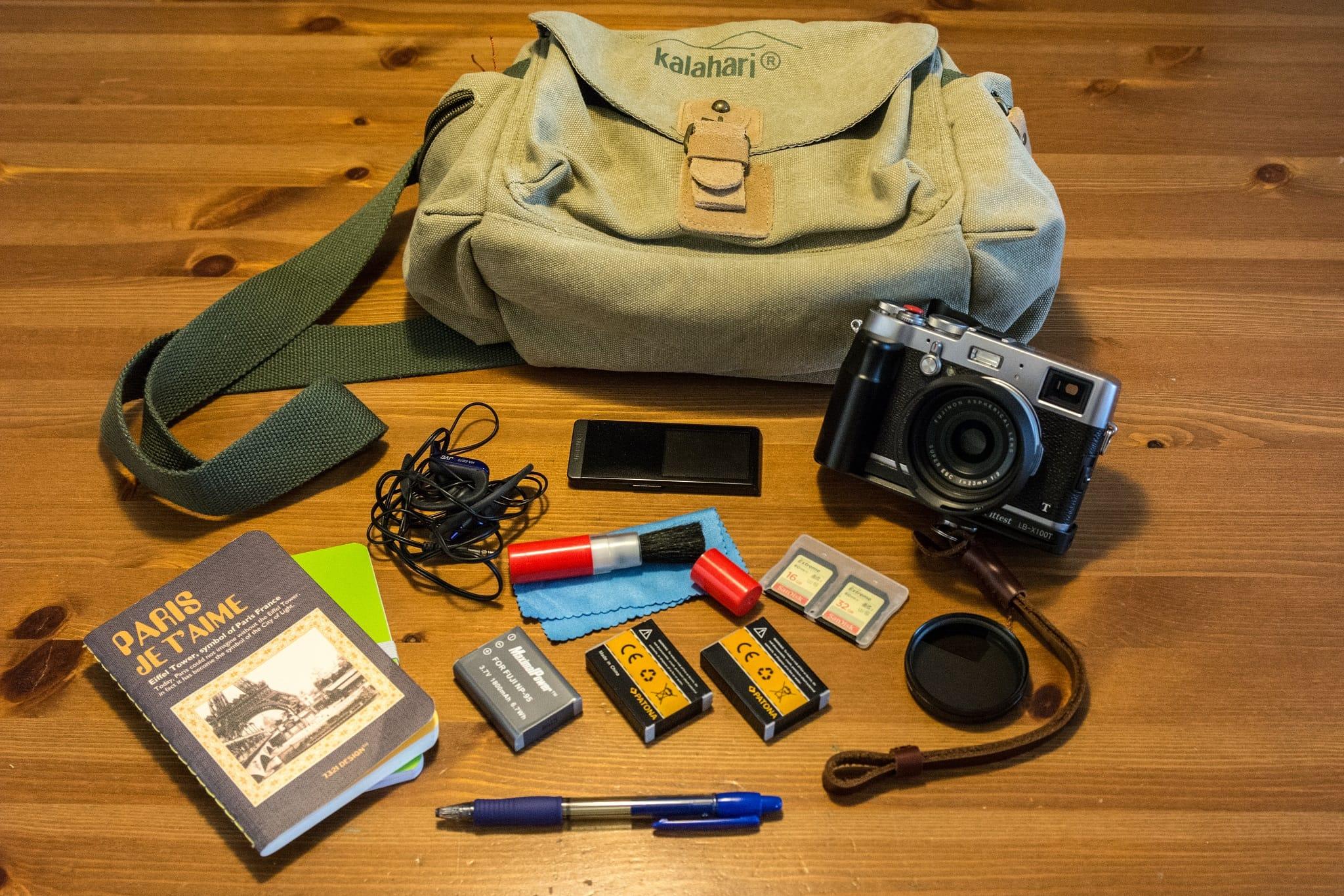 Eduardo Ponce's Camera Bag