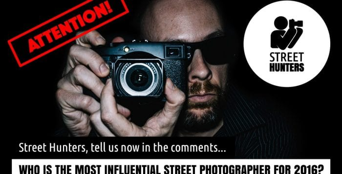 Most influential Street Photographers 2016