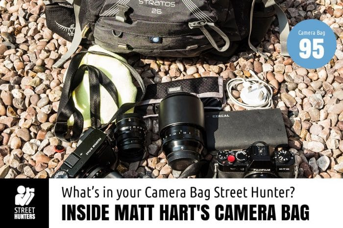 Inside Matt Hart's Camera Bag