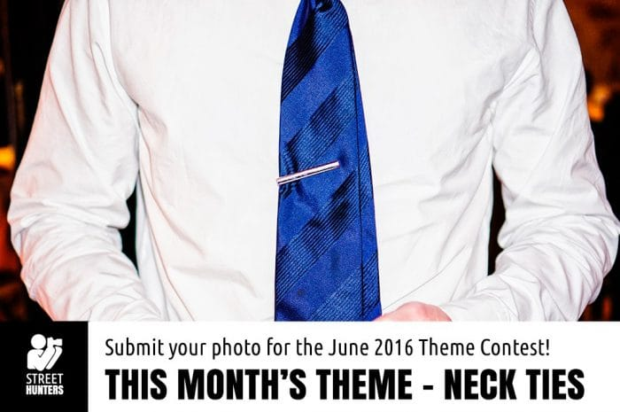 June Monthly Theme - Neck Ties