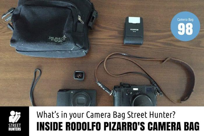 Inside Rodolfo Pizarro's Camera Bag