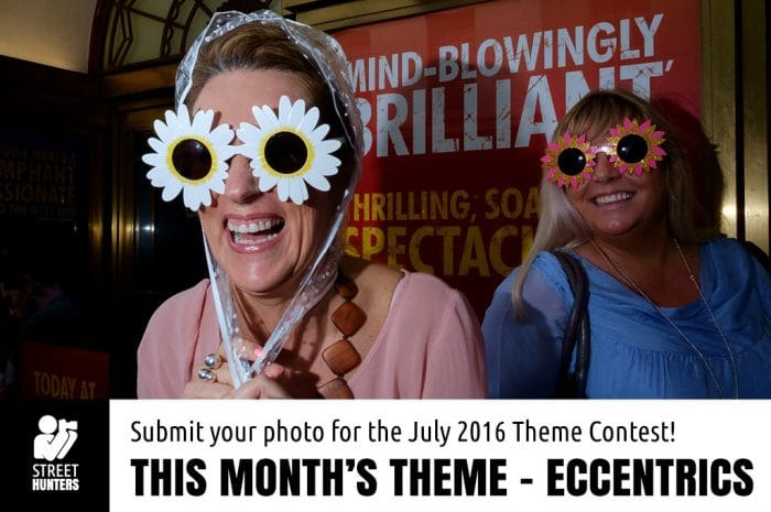 July Monthly Theme - Eccentrics
