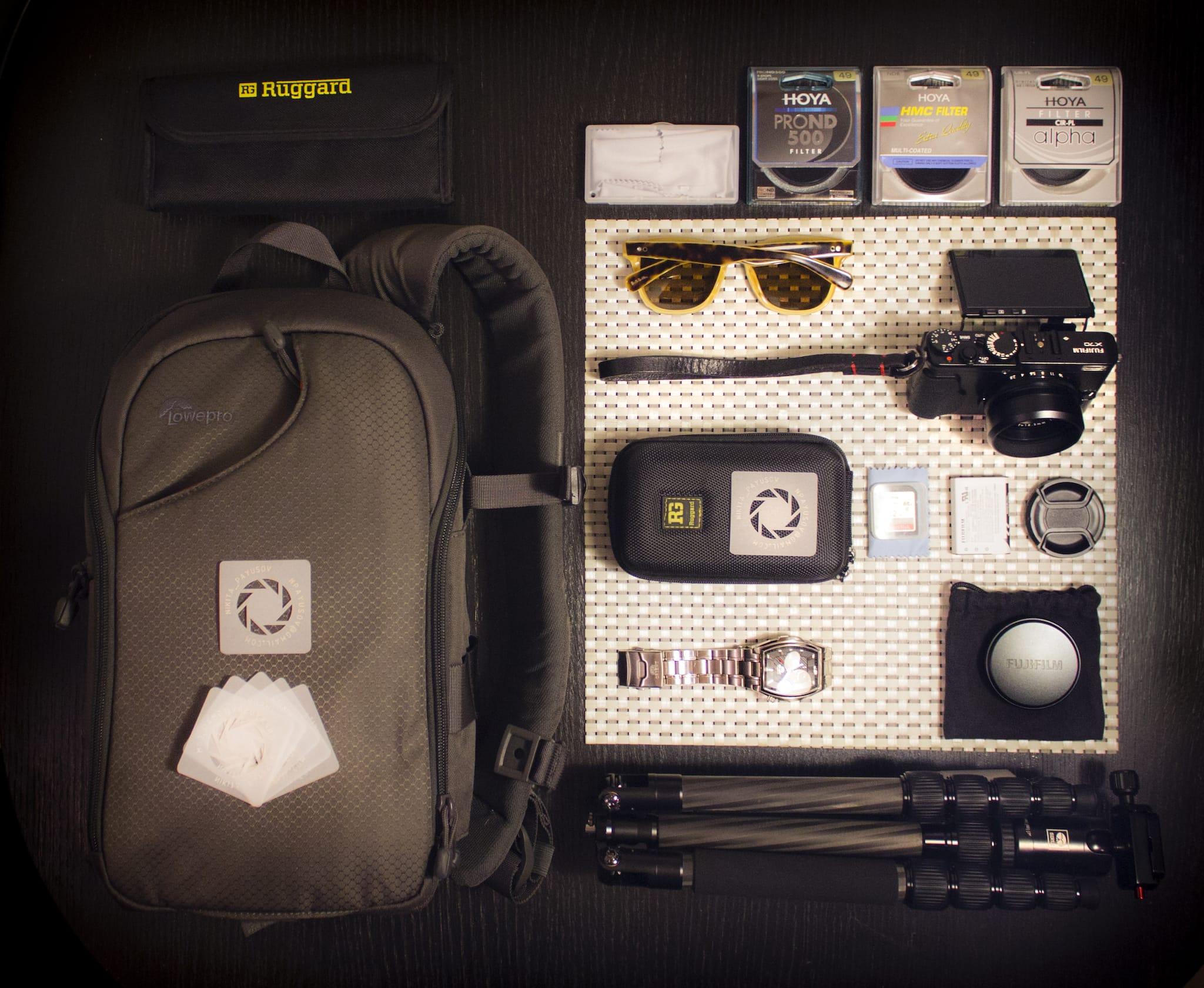Nikita Payusov's Camera Bag