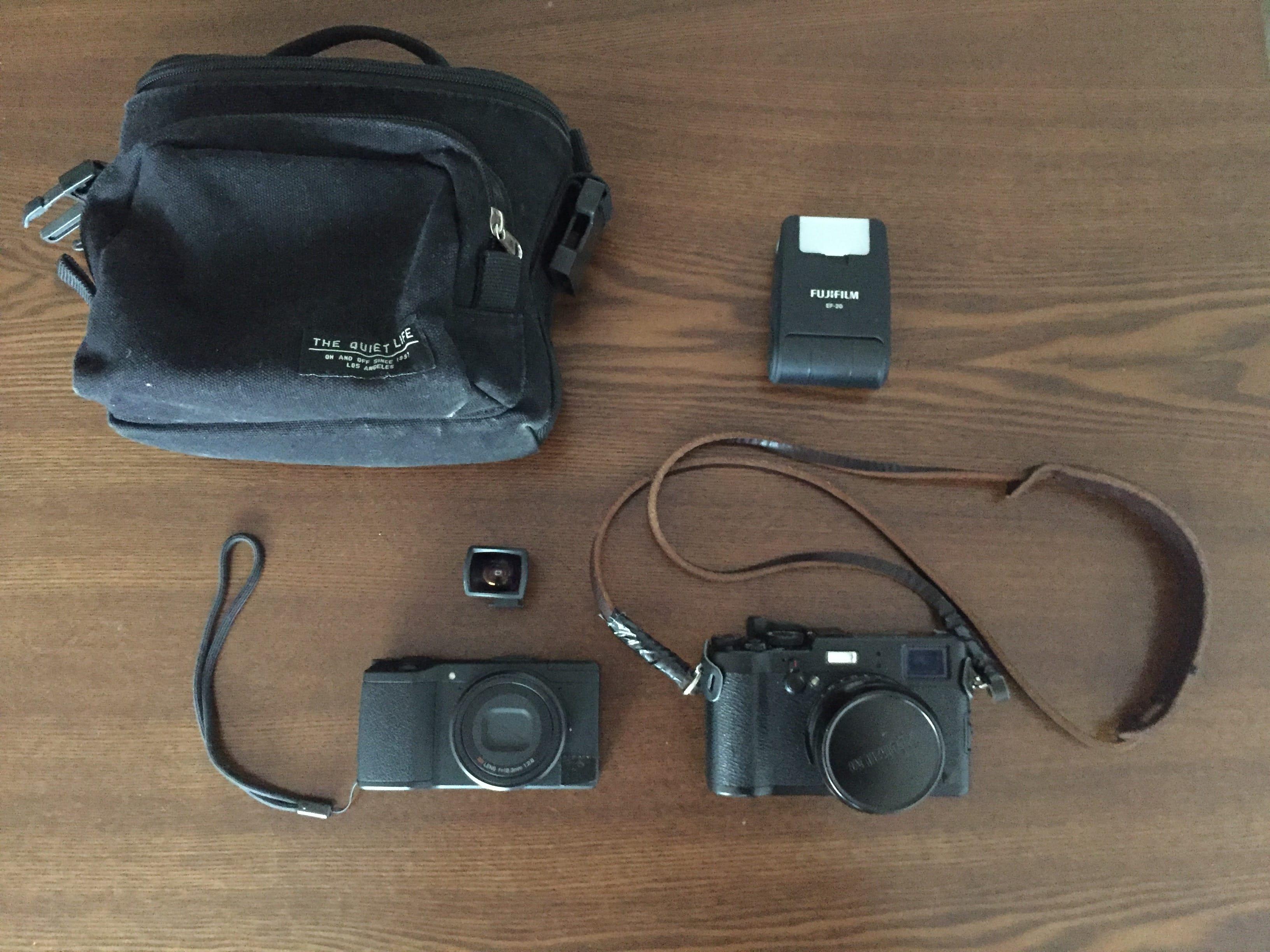 Rodolfo Pizarro's Camera Bag
