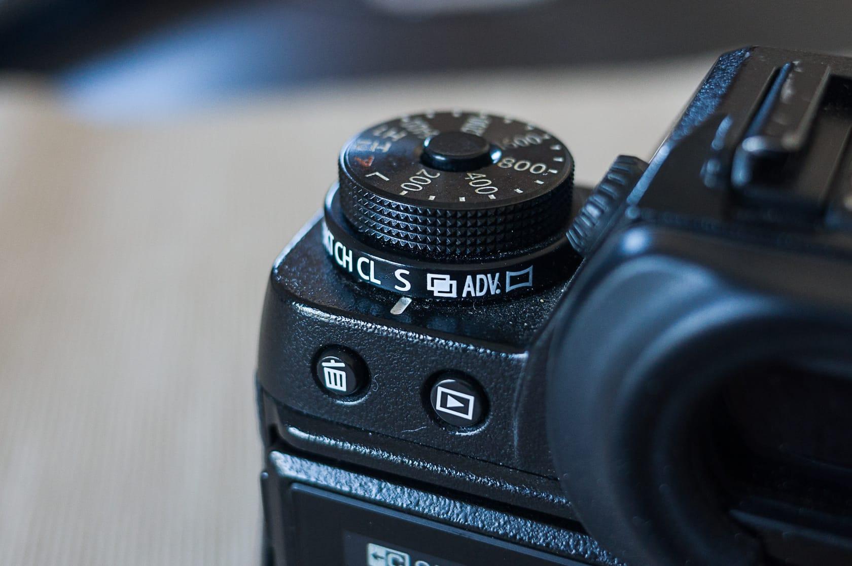 Fujifilm X-T1 Handling