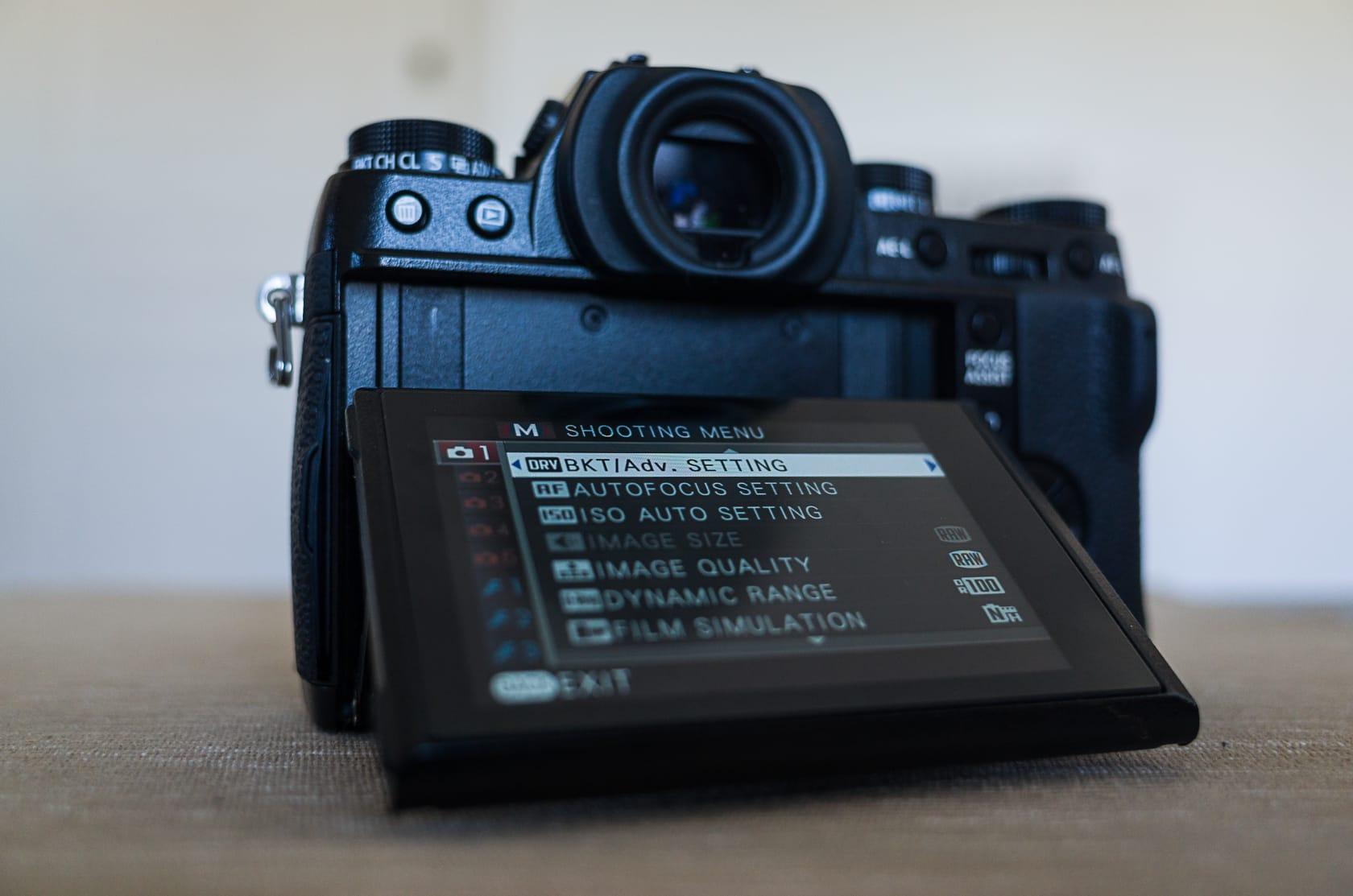 Fujifilm X-T1 Features