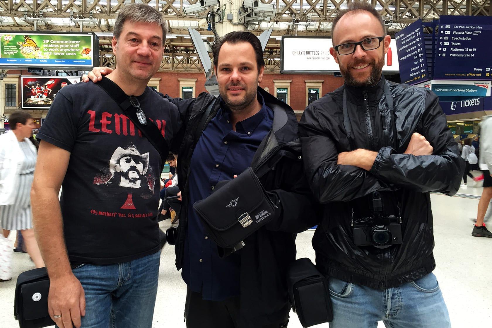 Thomas Ludwig, Tom Jeavons and Spyros Papaspyropoulos