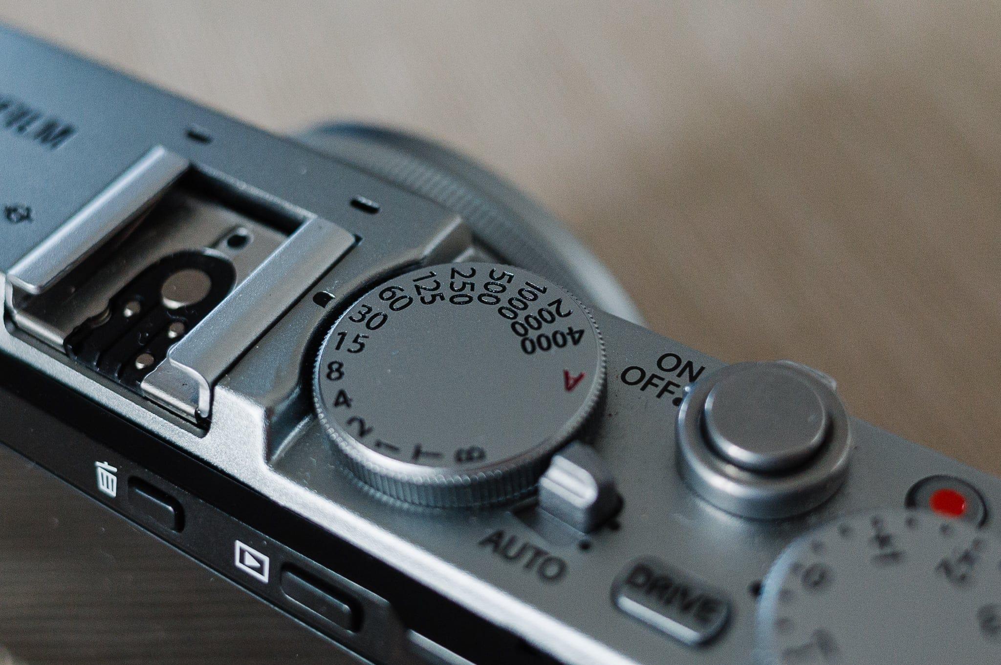 Fujifilm X70 product photo