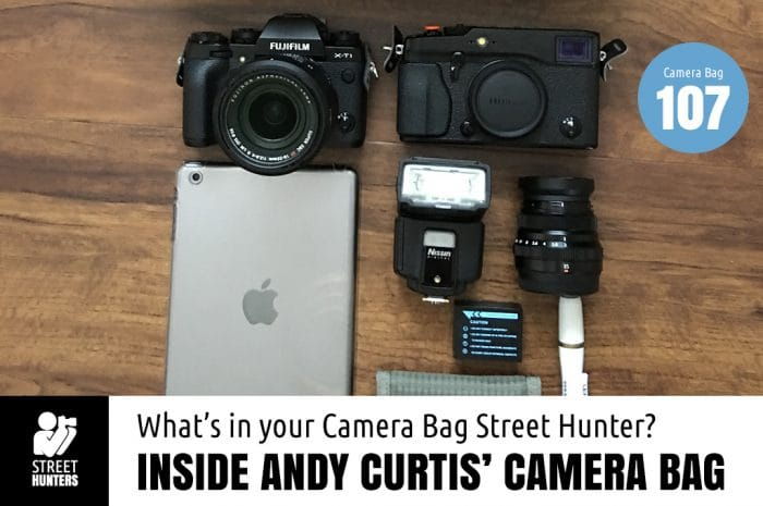 Inside Andy Curtis' Camera Bag