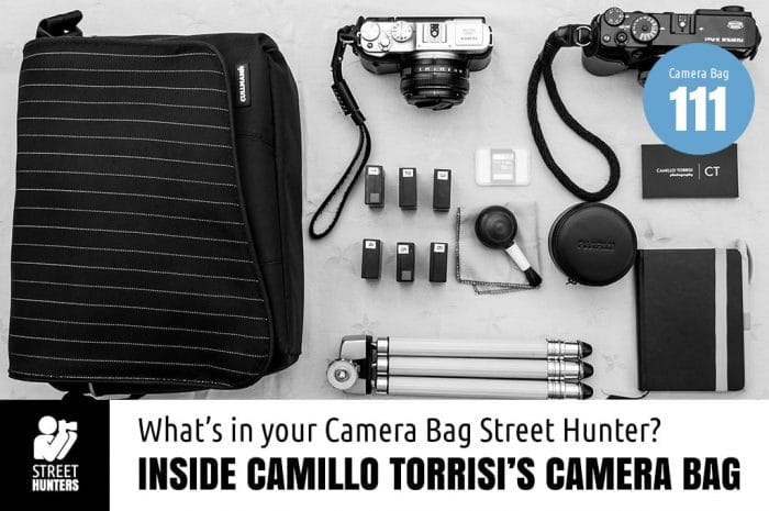 Inside Camillo Torrisi's Camera Bag