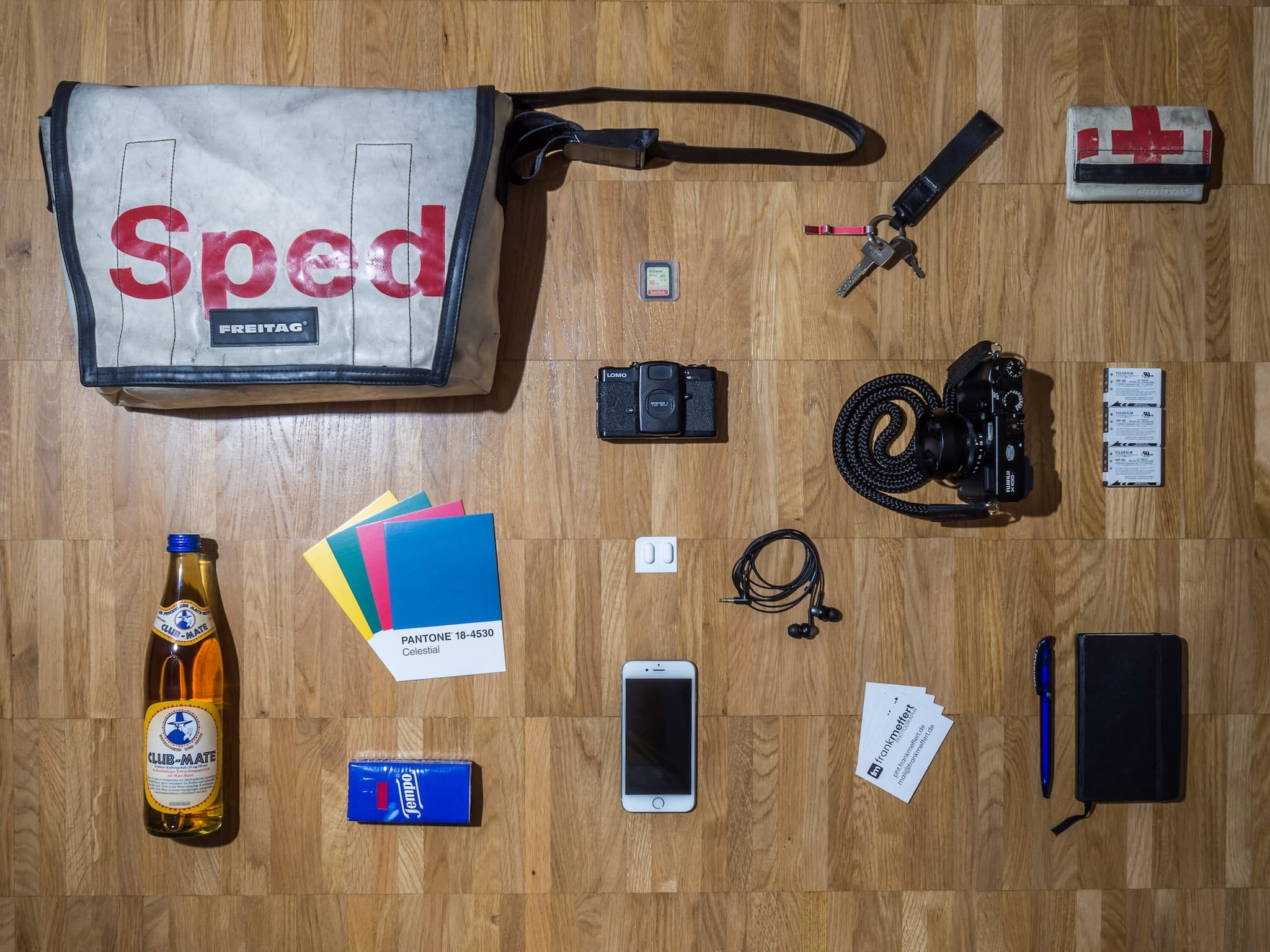 Frank Meffert's camera bag