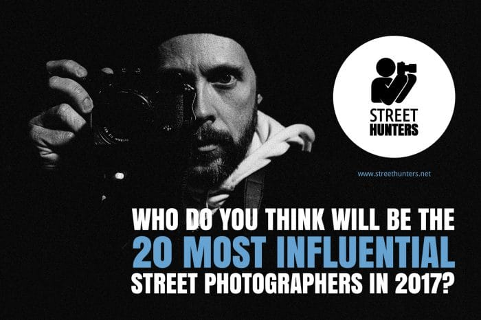 Influential street photographers 2017