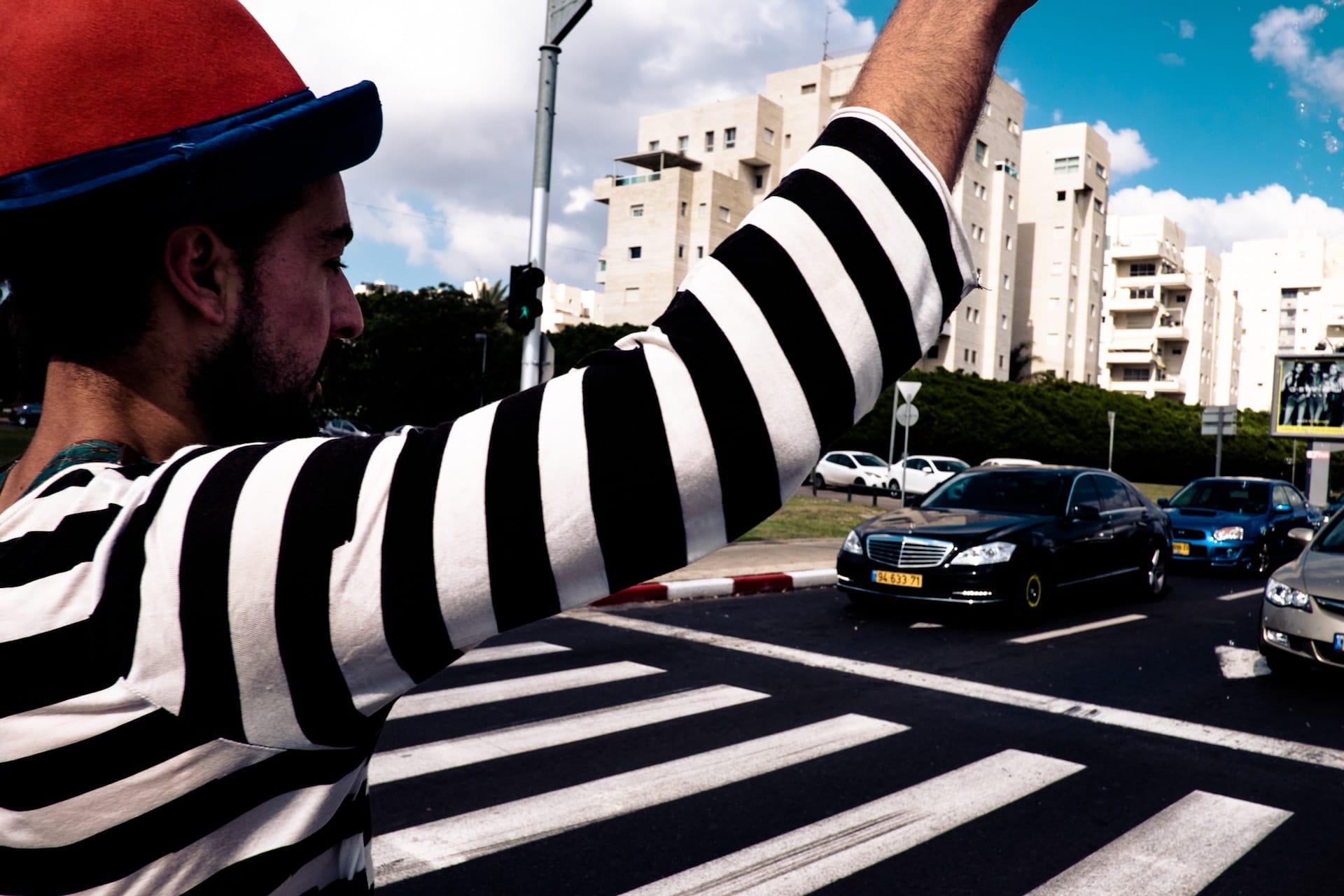 """""""Zebra crossings"""" winning photo by Roy Rozanski"""