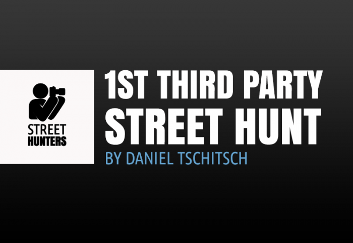The 1st Third Party Street Hunt by Daniel Tschitsch