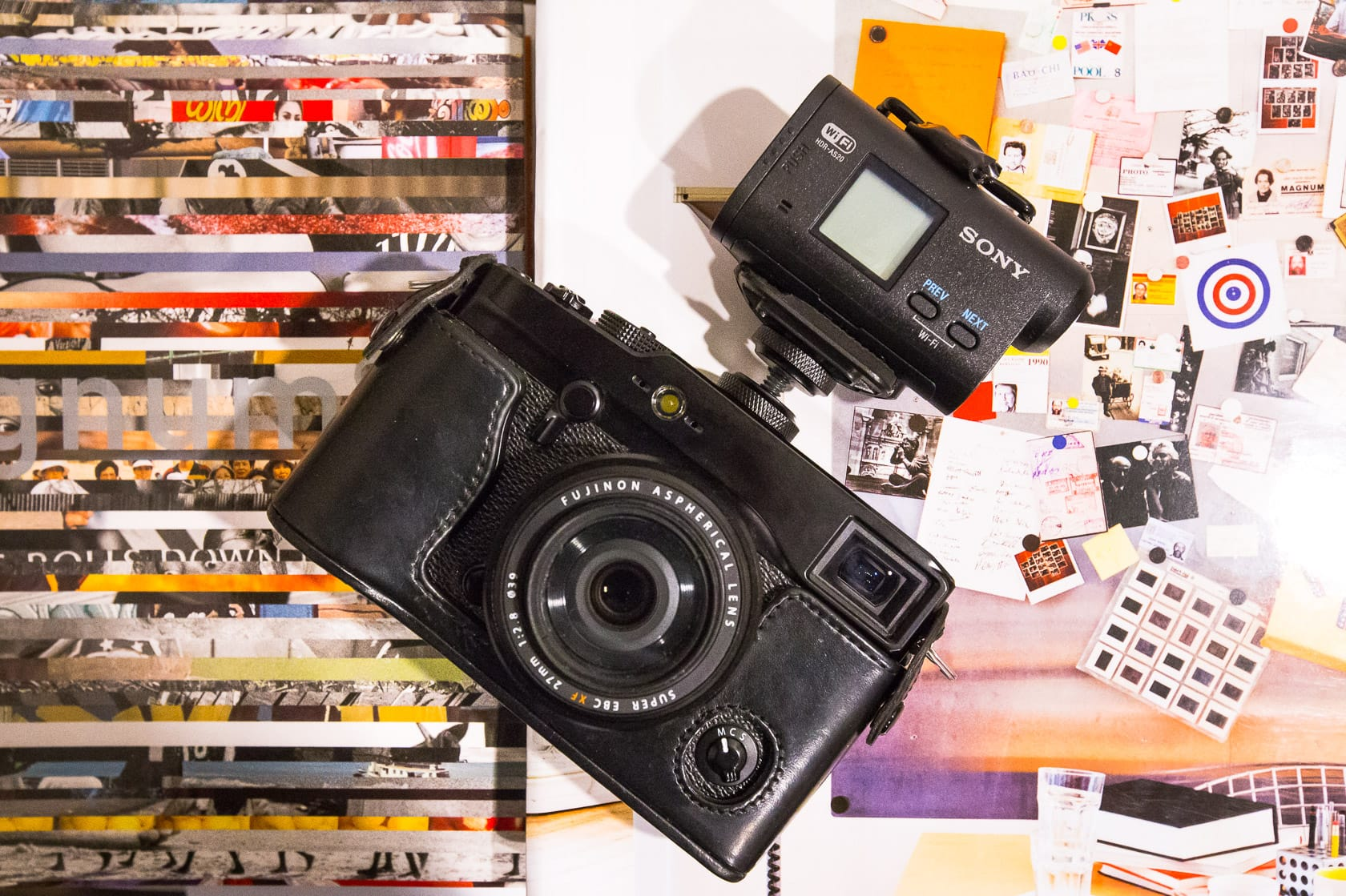 The Fuji X-Pro1 & Sony Cam is one of the best Street Photography Vlogging Action Camera setups