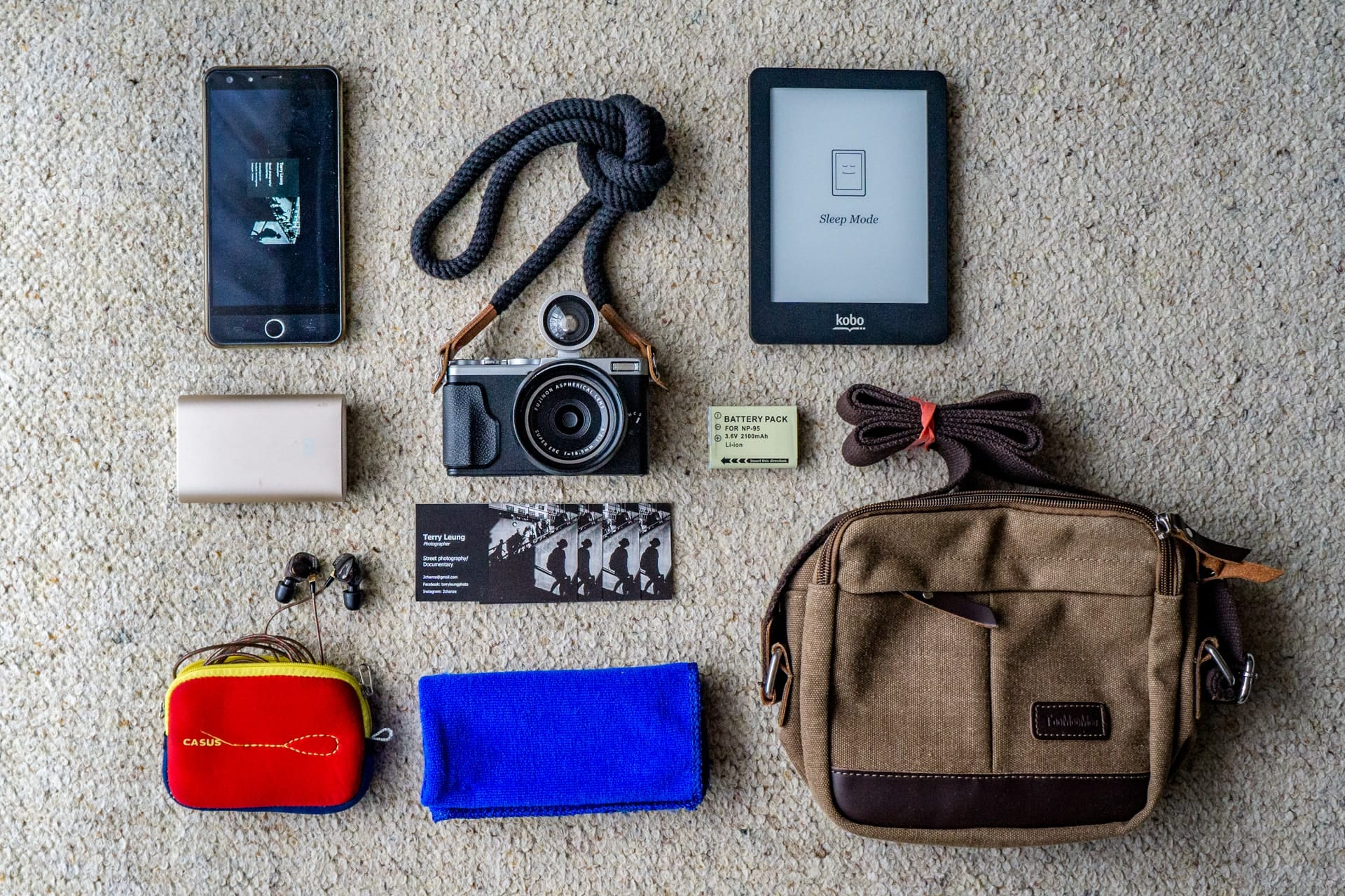 Terry Leung's Camera Bag