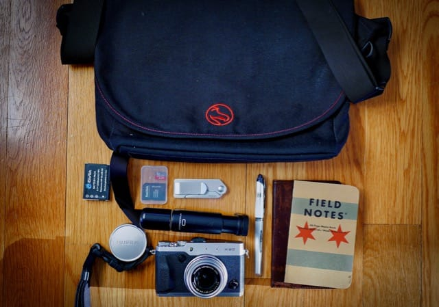 Dave Boyle's Camera Bag