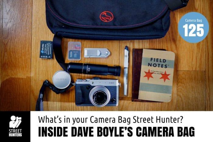 Inside Dave Boyle's Camera Bag