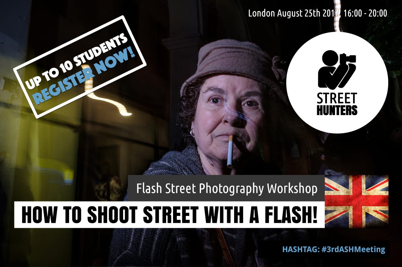Flash Street Photography Workshop in London