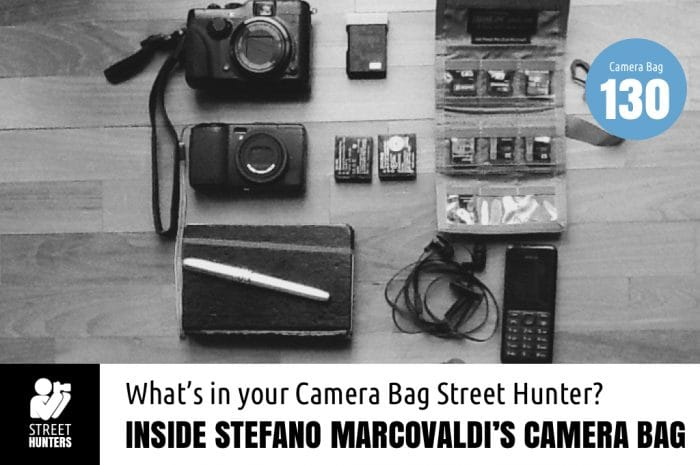 Inside Stefano Marcovaldi's Camera Bag