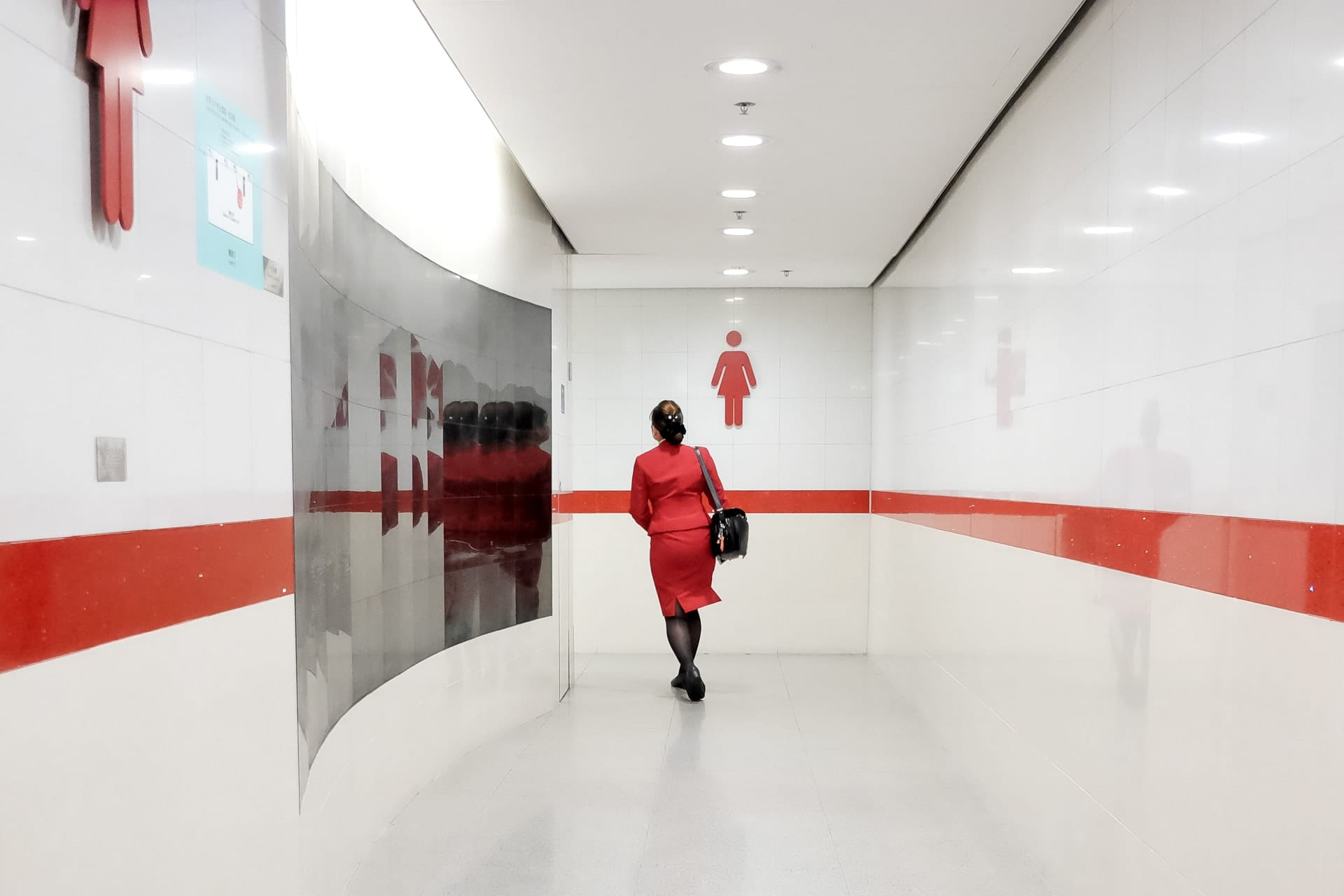 """""""The Colour Red"""" street photograph by Karlo Flores"""
