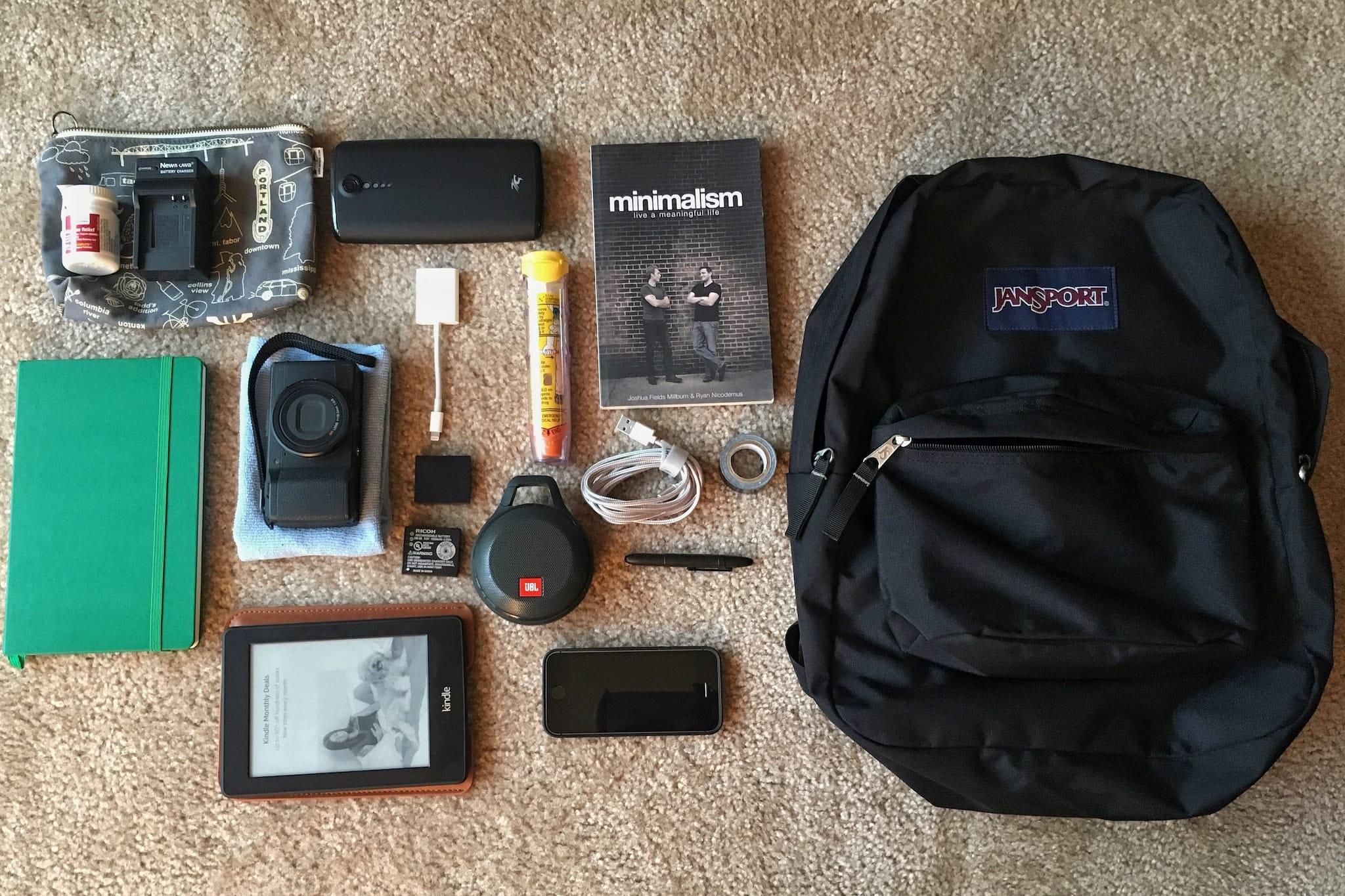 Richard Ashley's Camera Bag