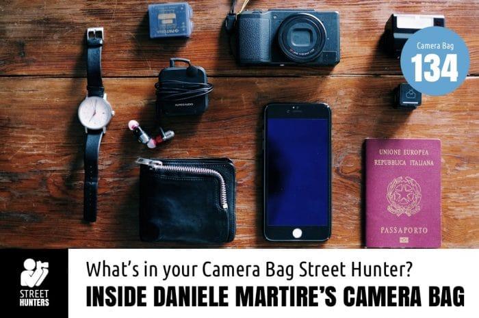 Inside Daniele Martire's Camera Bag