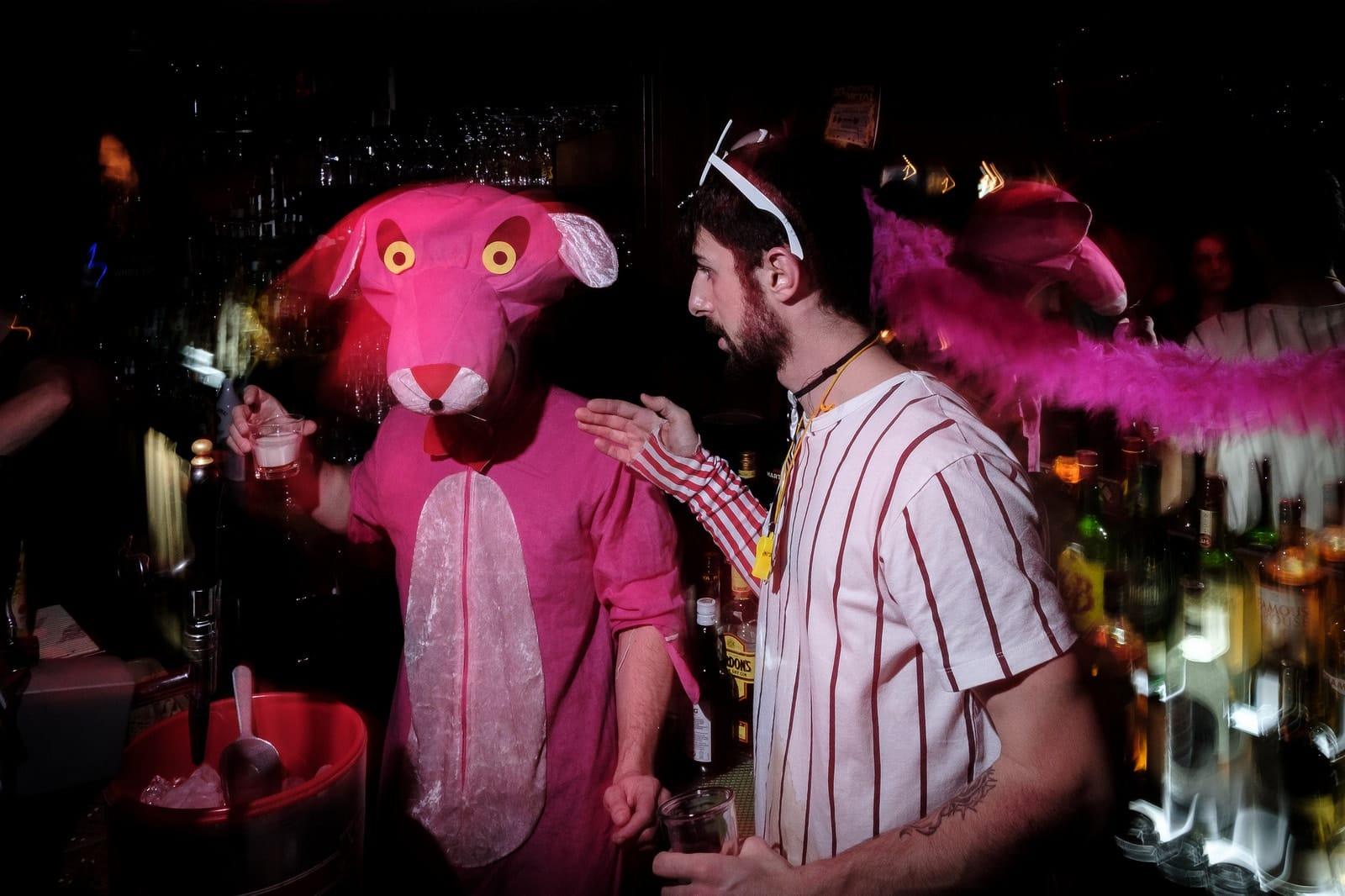"""Pink Panther"" by Spyros Papaspyropoulos"