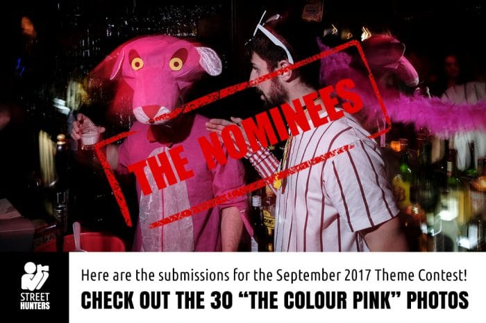 September Nominees for the colour pink