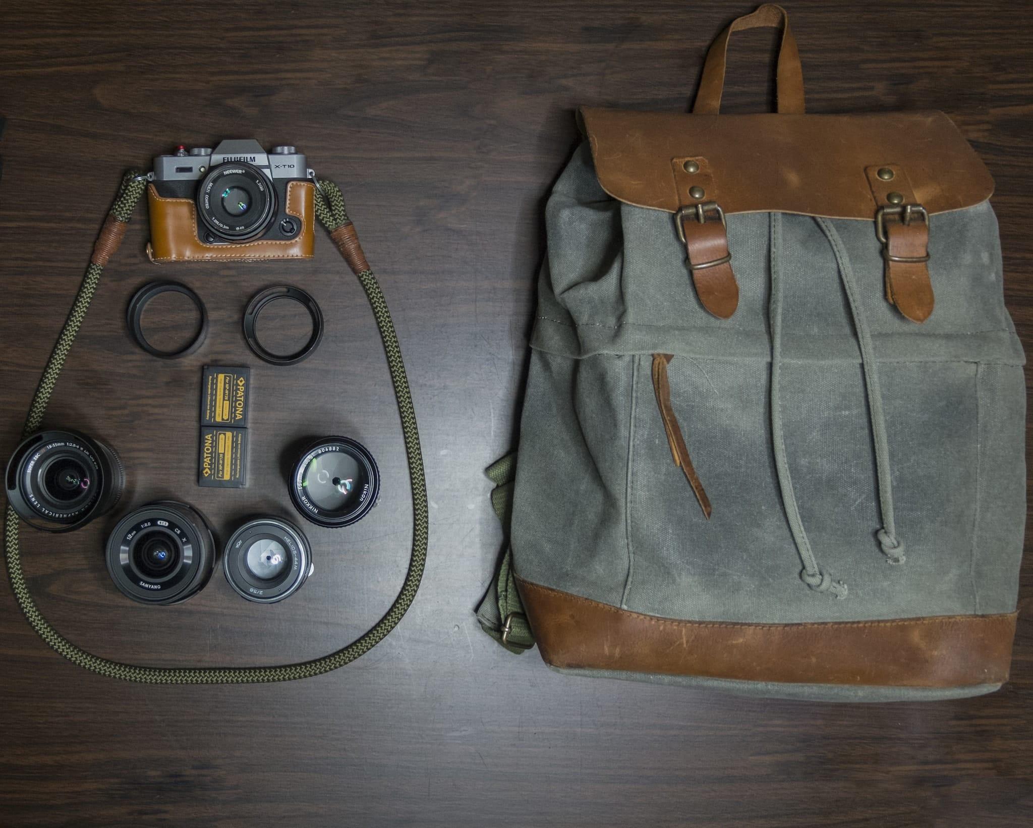 Alexandros Koukoulis Camera bag - Bag No. 139