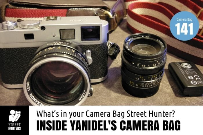 Inside Yanidel's Camera Bag