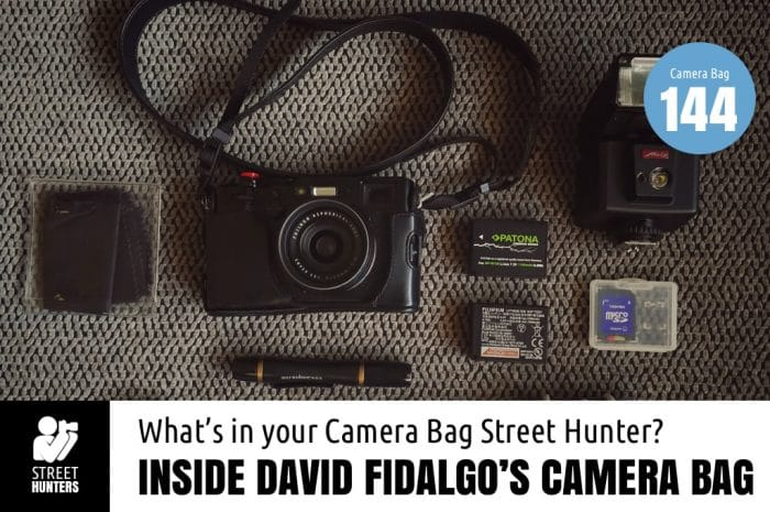 Inside David Fidalgo's Camera Bag
