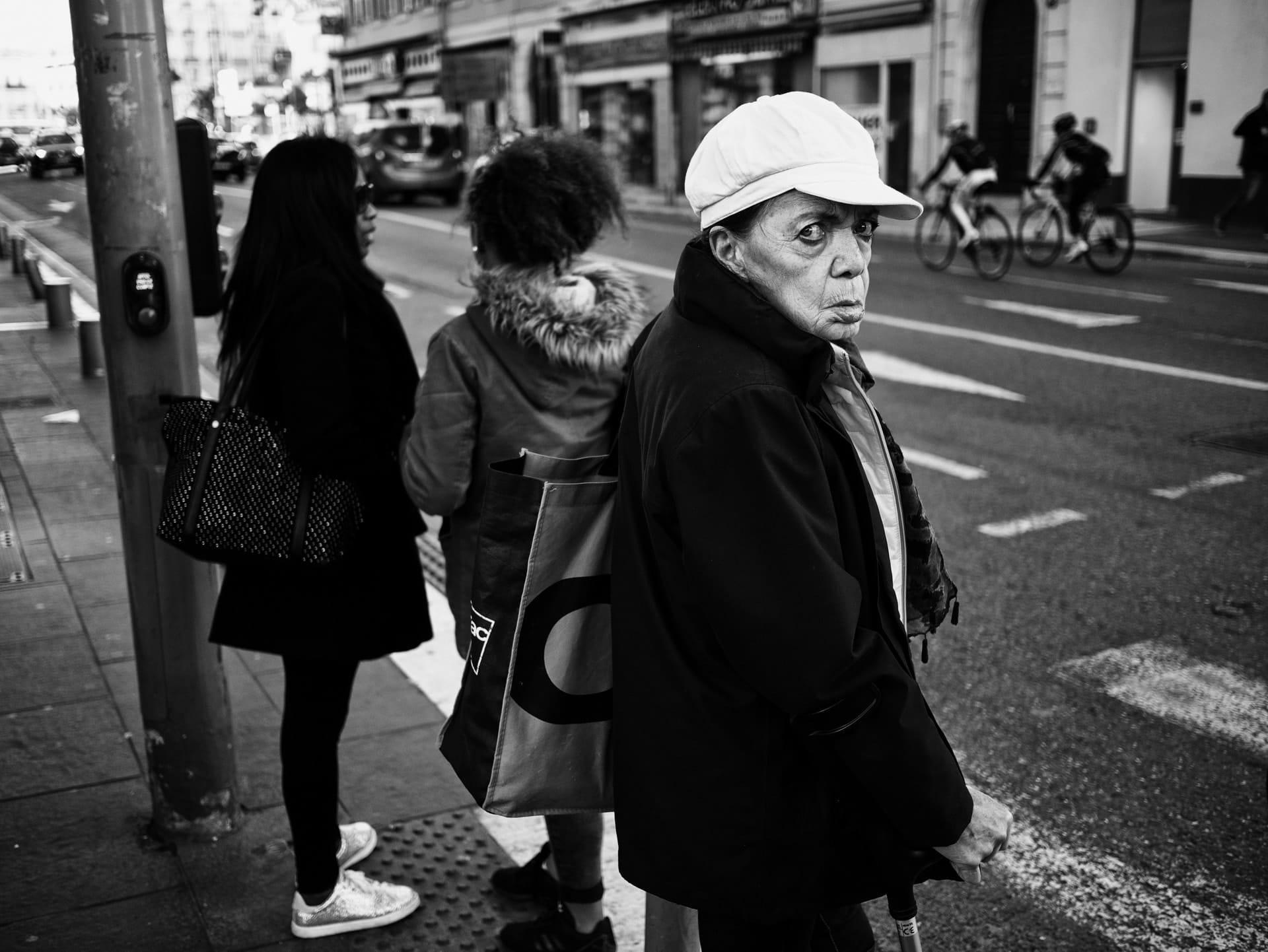"""Hatred"" street photograph by Alain Karsenty"