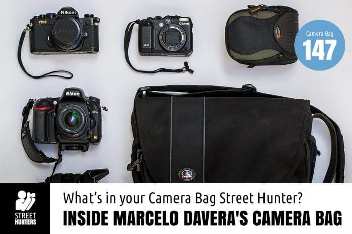 Inside Marcelo Davera's Camera Bag