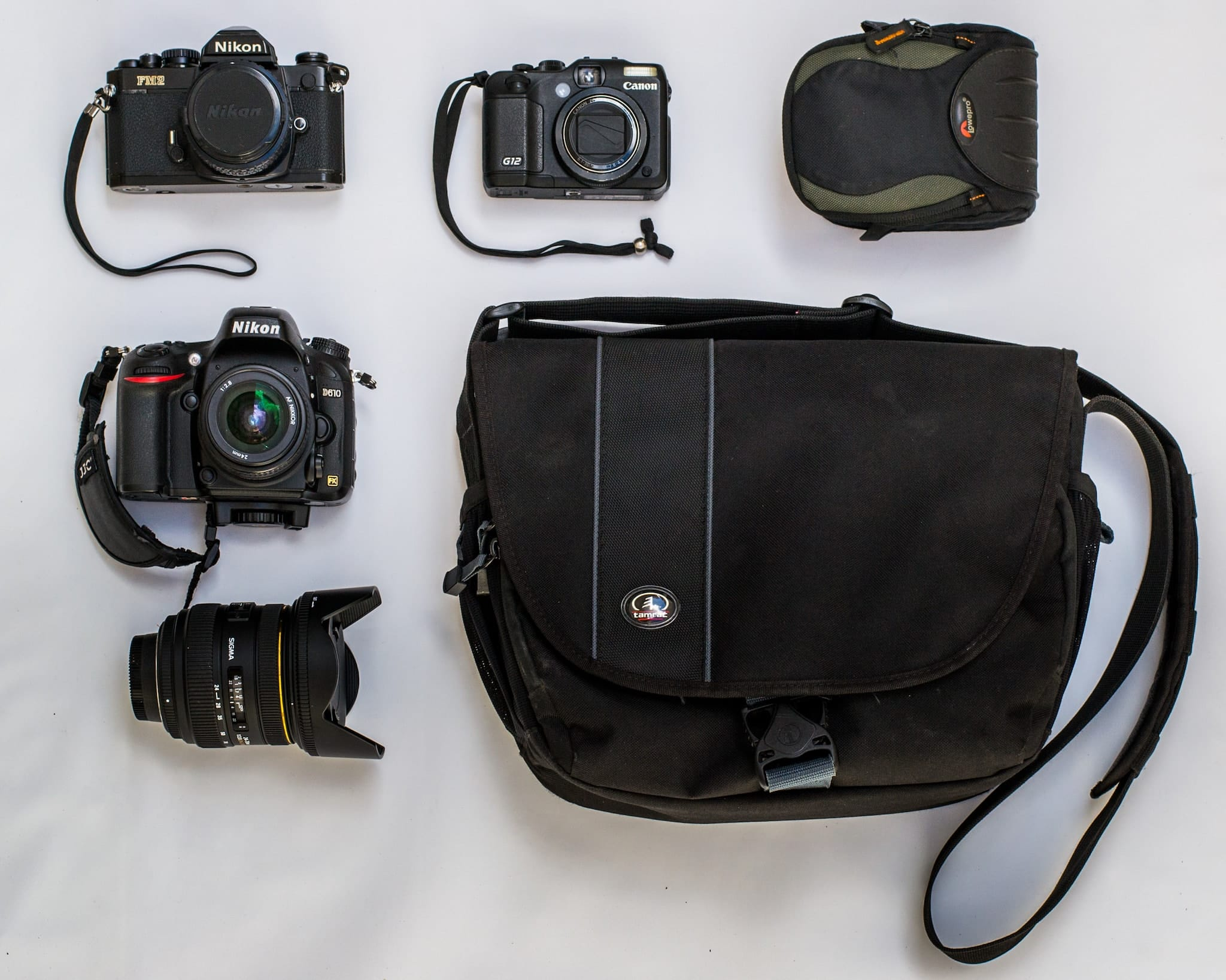 Marcelo Davera's Camera Bag - Bag No. 147