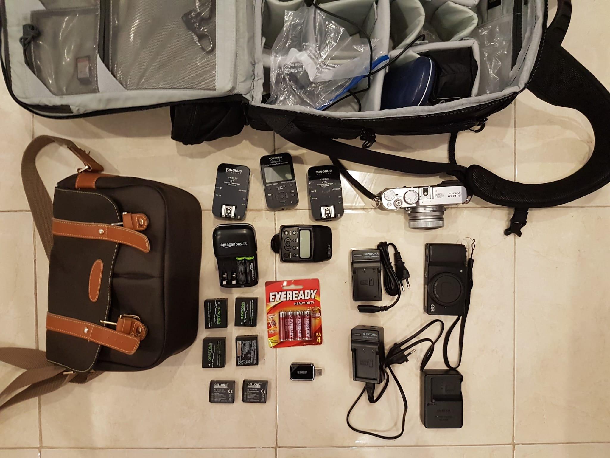 Sebastian Jacobitz's Camera Bag - Bag No. 146
