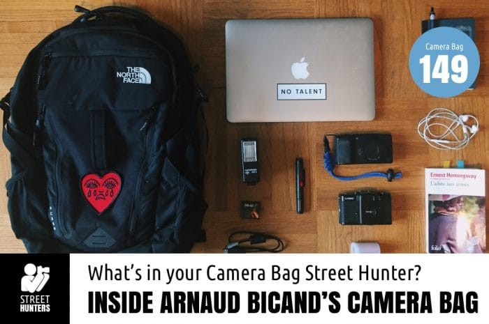Inside Arnaud Bicand's Camera Bag