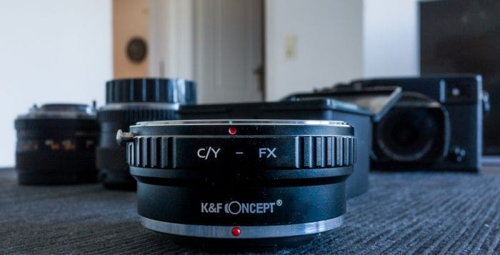 K&F Concept CY to FX Lens adapter review