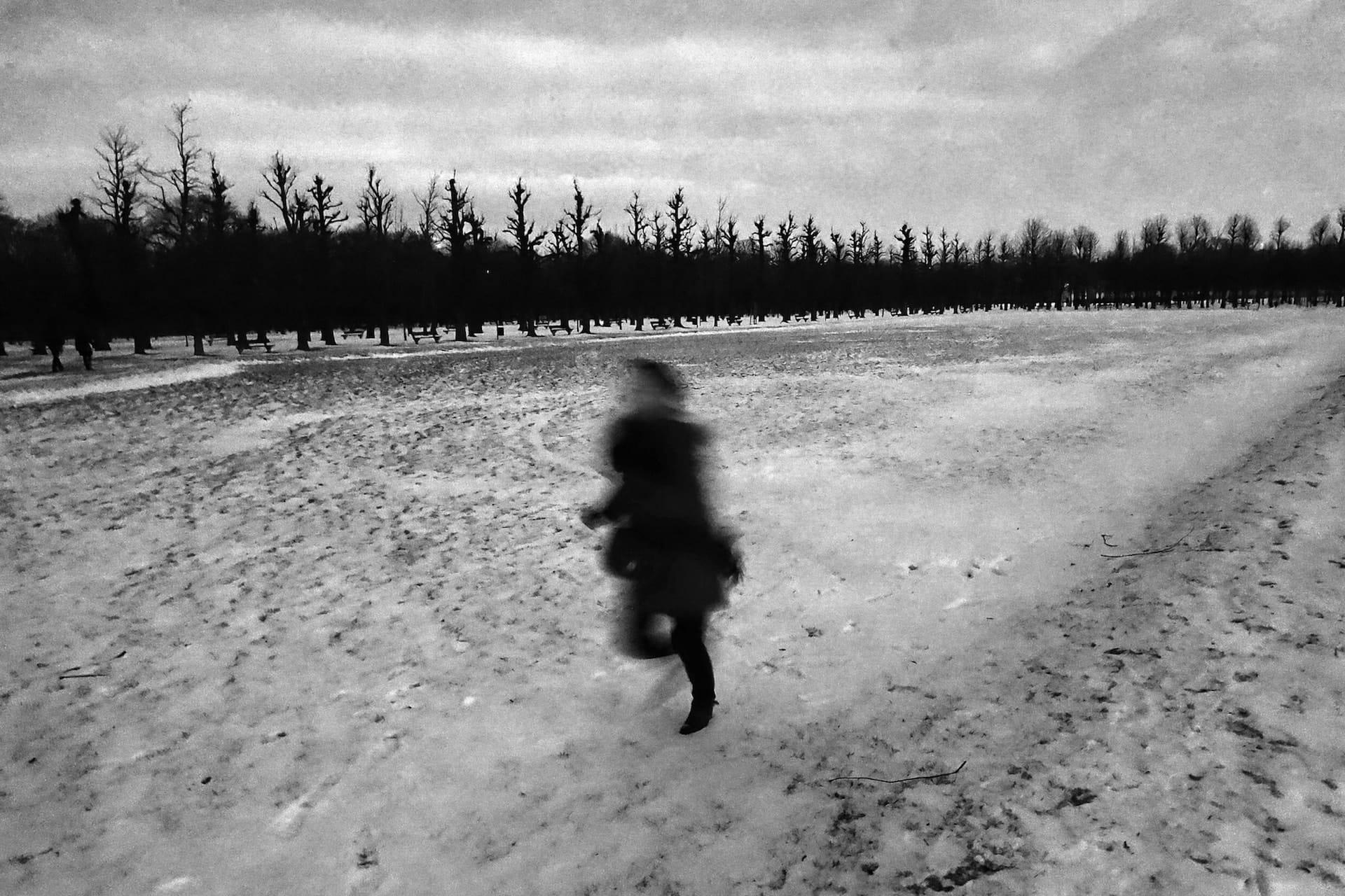 """Snowy day"" Street Photograph by Jeffrey De Keyser"