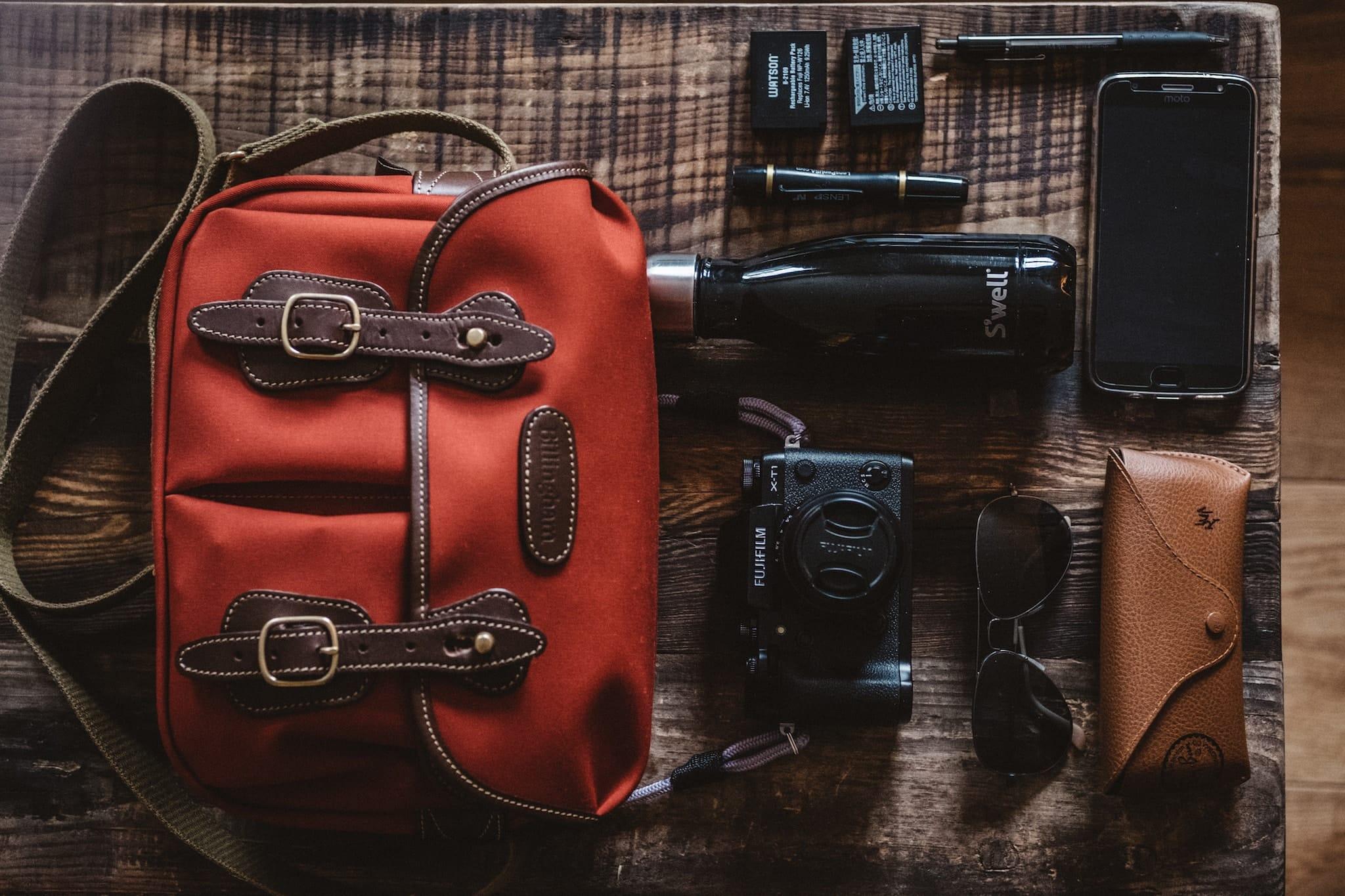 Marcelo de Coghlan's Camera Bag - Bag No. 151