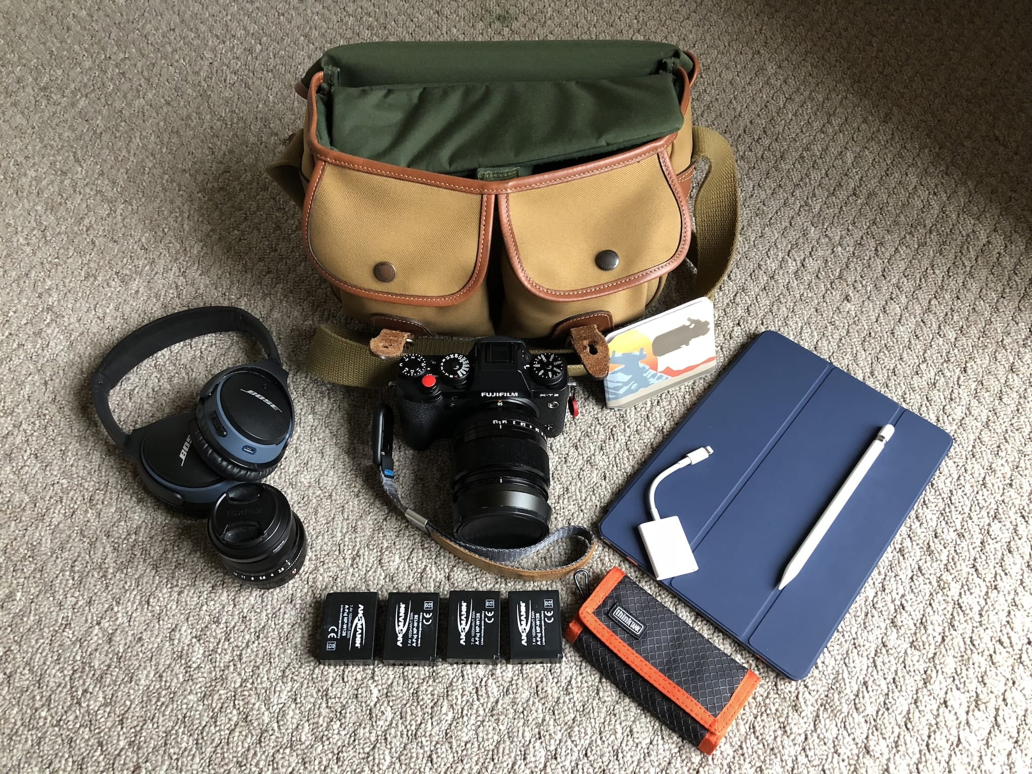 John Hughes' Camera Bag - Bag No. 153