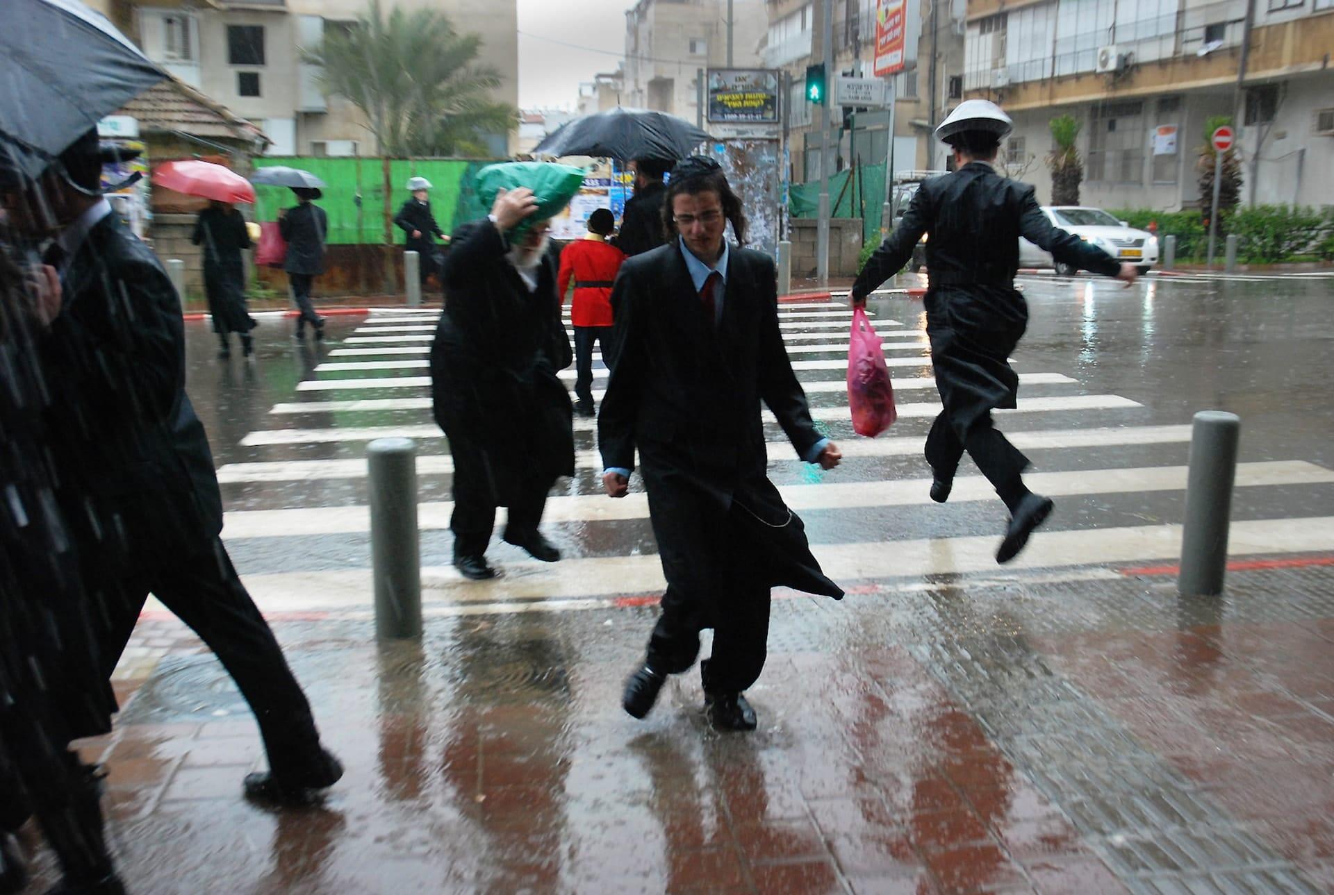"""""""Rainy day"""" Street Photograph by Hezy Holzman"""