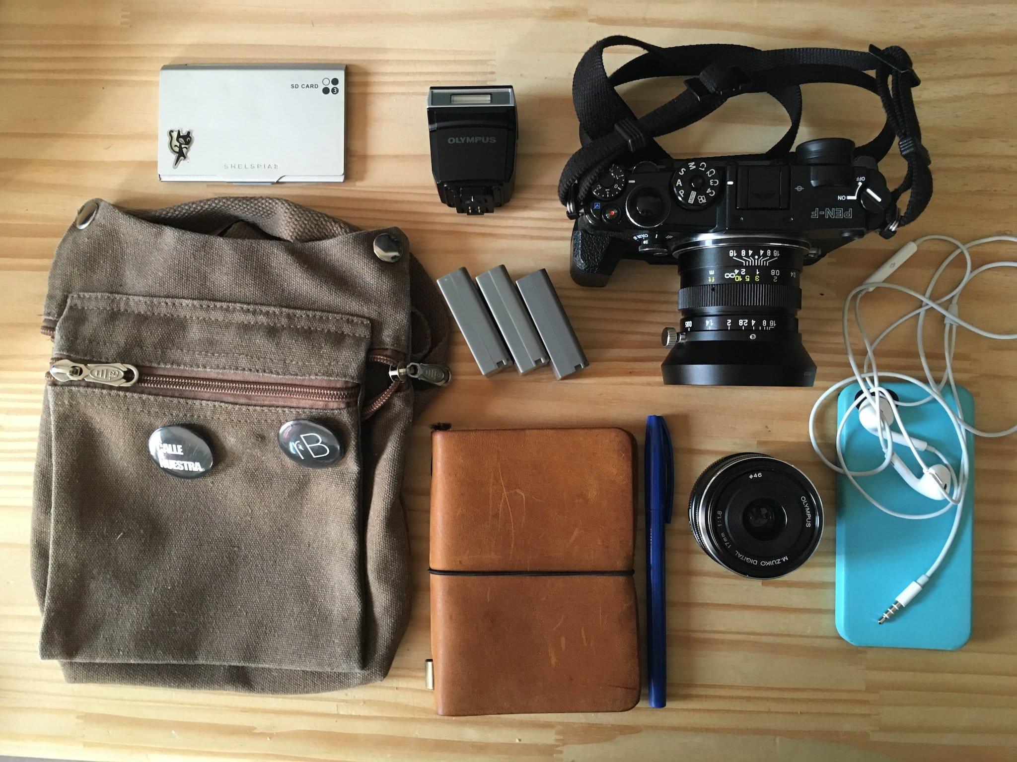 Raul Barroso's Camera Bag - Bag No. 155