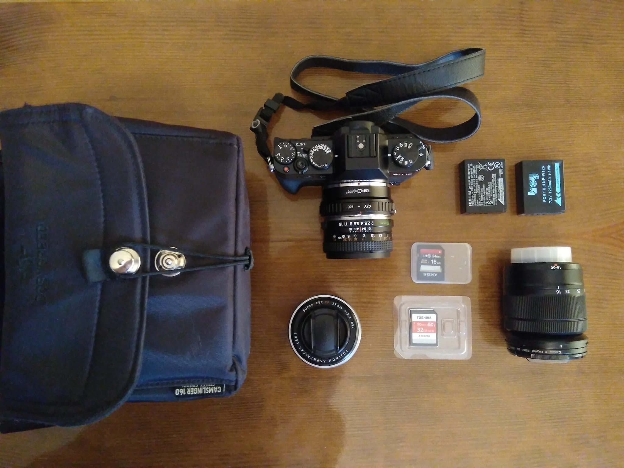 Yannis Fragakis' Camera Bag - Bag No. 154