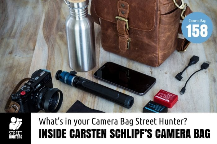 Inside Carsten Schlipf's Camera Bag - Bag No. 158