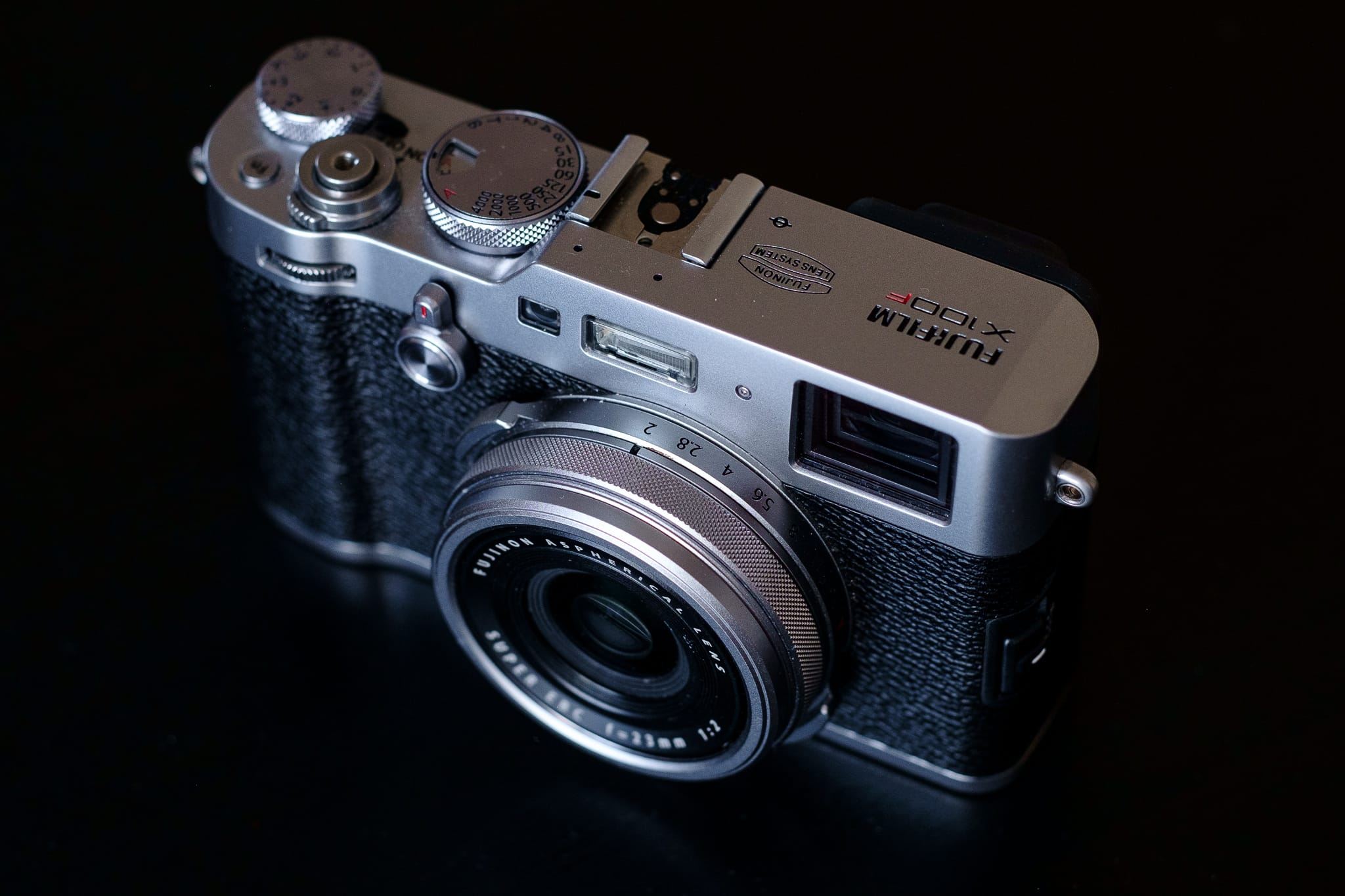 Fujifilm X100F for Street Photography top front