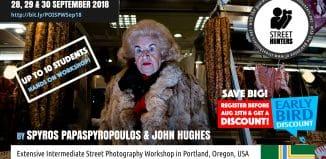 Portland Street Photography Workshop Announcement